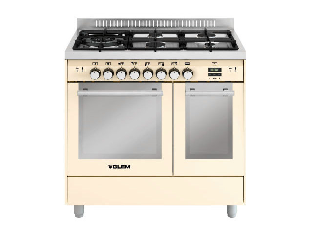 Steel cooker MD944SIV | Cooker by Glem Gas