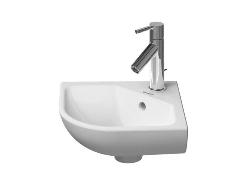 Corner handrinse basin with overflow ME | Corner handrinse basin by Duravit