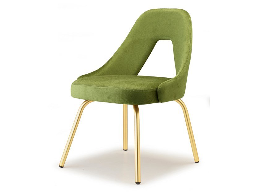 Upholstered fabric chair ME | Restaurant chair by SCAB DESIGN