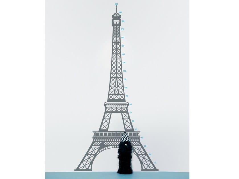 Vinyl wall sticker MEASURING SOUVENIR PARIS by Moustache