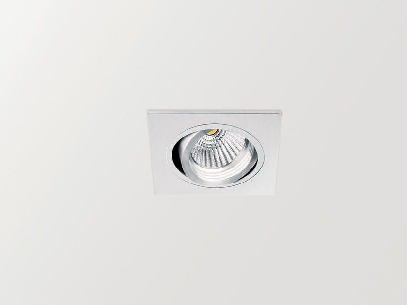 LED adjustable spotlight MEC TILT | Square spotlight by Arkoslight