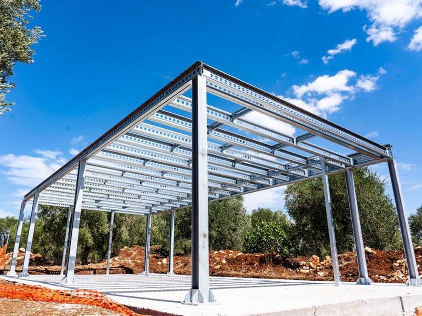 Sistema a secco con struttura portante in acciaio MECHANO STEEL FRAME by Knauf Italia