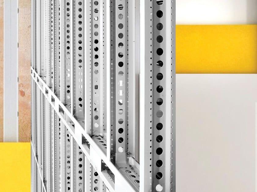 Sistema a secco con struttura portante in acciaio MECHANO STEEL FRAME by Scaffsystem