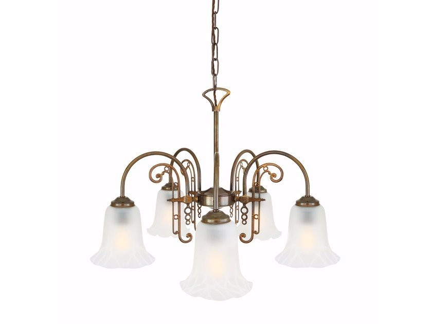 Chandelier MEDAN 5 Arms by Mullan Lighting