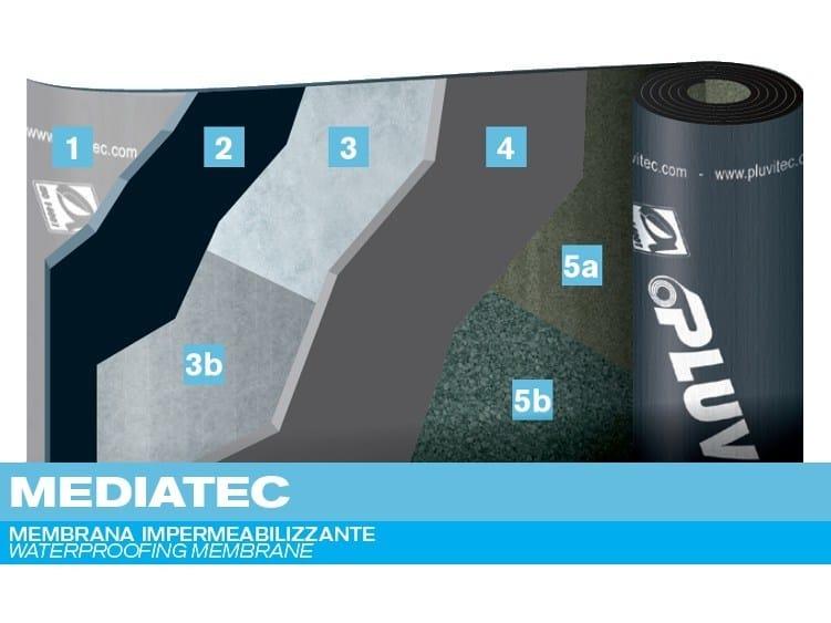 Prefabricated bituminous membrane MEDIATEC by PLUVITEC