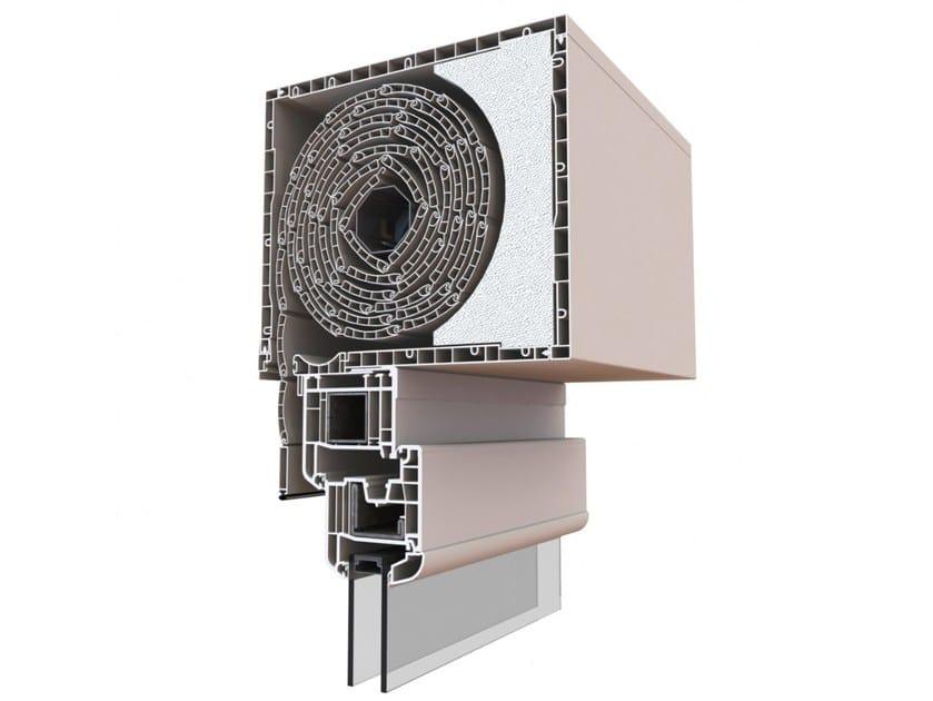 Box for roller shutter MEDITERRANEO by ALPHACAN