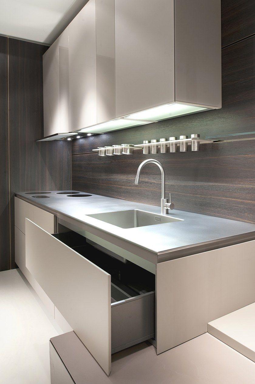 Cucina componibile senza maniglie MEDITERRANEUM By SCIC
