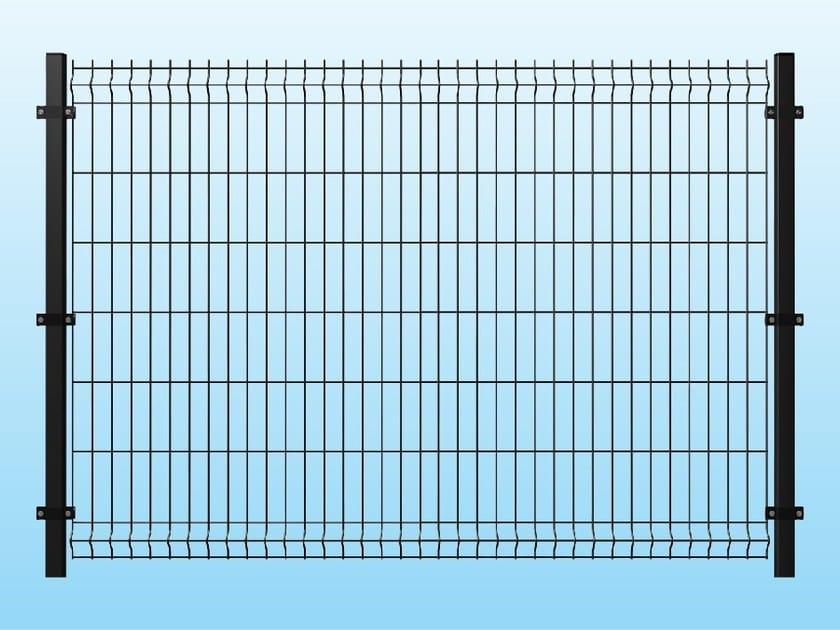 Modular electrically welded mesh Fence MEDIUM ANTHRACITE by Ferro Bulloni