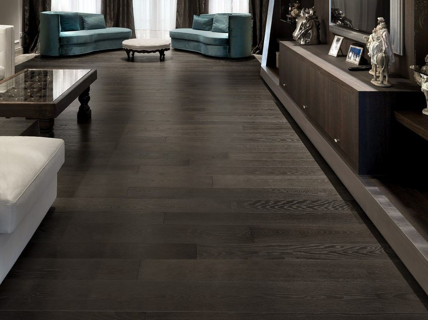 Brushed oak parquet MEDLAR by CADORIN GROUP