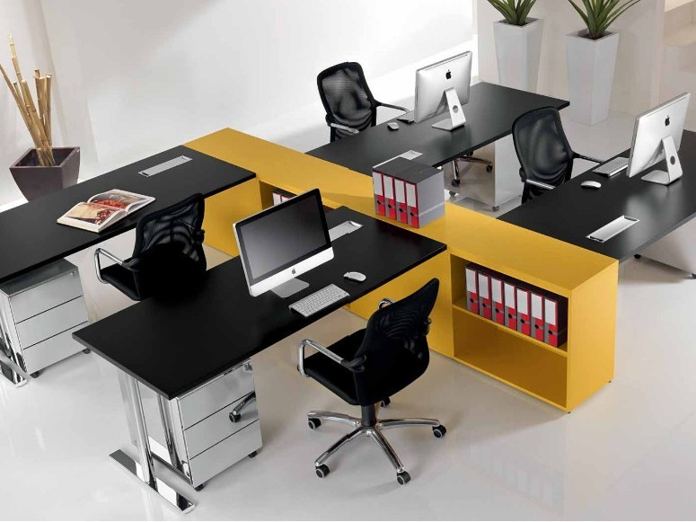 Multiple office workstation MEDLEY | Office workstation by Castellani.it
