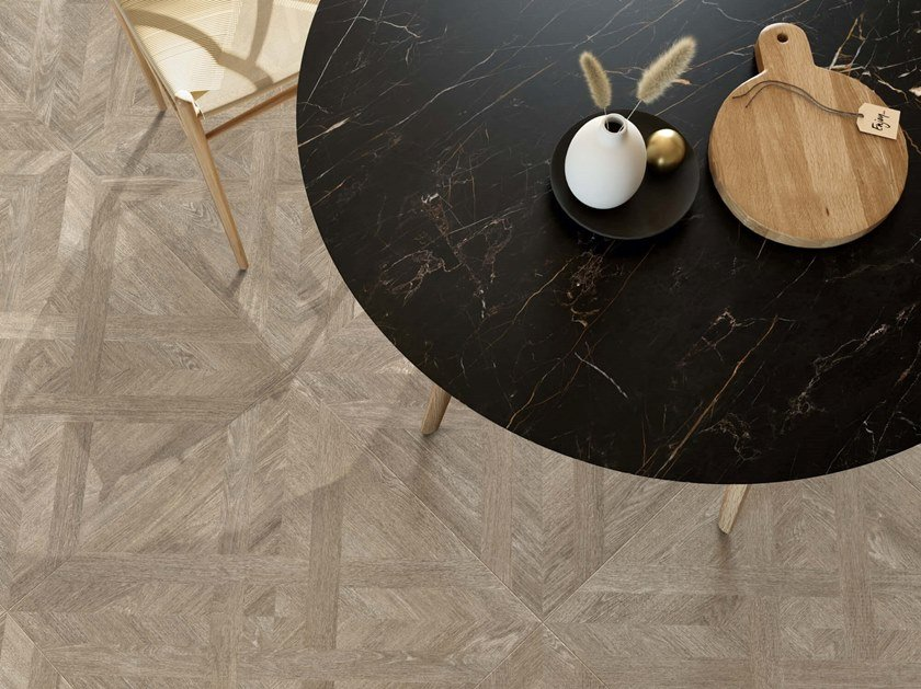 Porcelain stoneware wall/floor tiles with wood effect MEET ALLURE AZEL by Ceramiche Caesar
