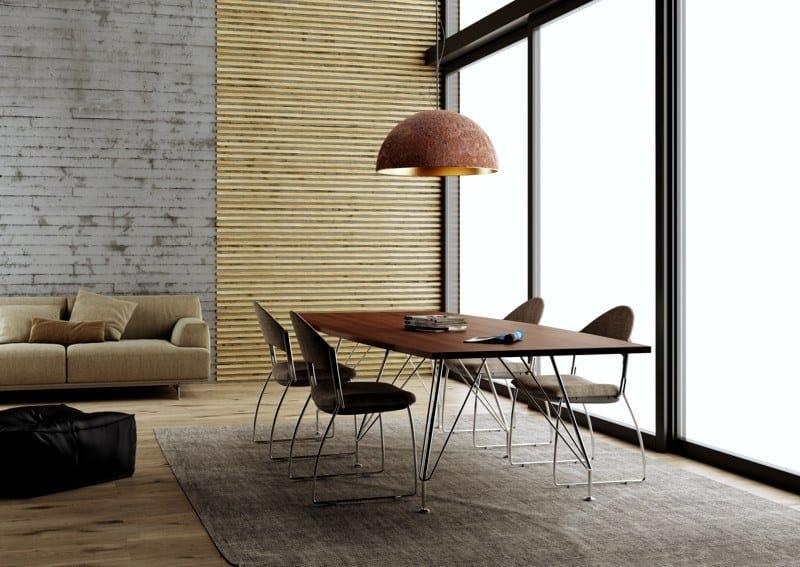 MEETING | Tavolo da riunione rettangolare MEETING tavolo da riunione rettangolare - tavolo da riunione rettangolare piano in legno