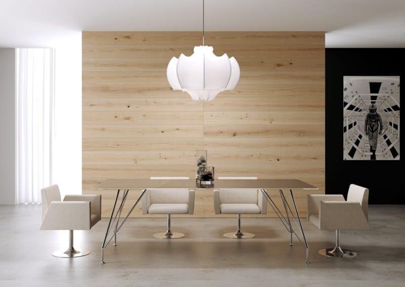 MEETING | Tavolo da riunione rettangolare MEETING Tavolo da riunioni - Tavolo riunione rettangolare in cristallo temperato