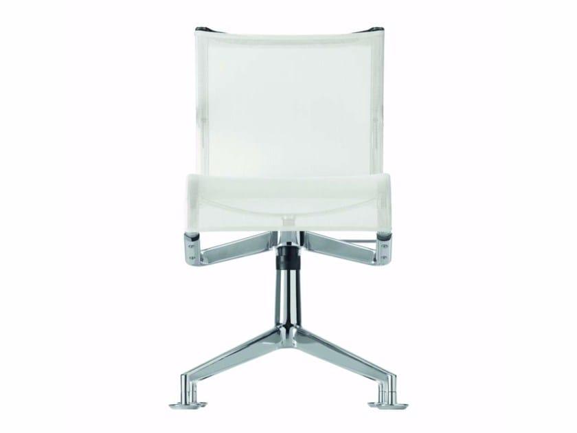 Drehbarer Bürostuhl aus Netzstoff MEETINGFRAME+ TILT - 446 by Alias