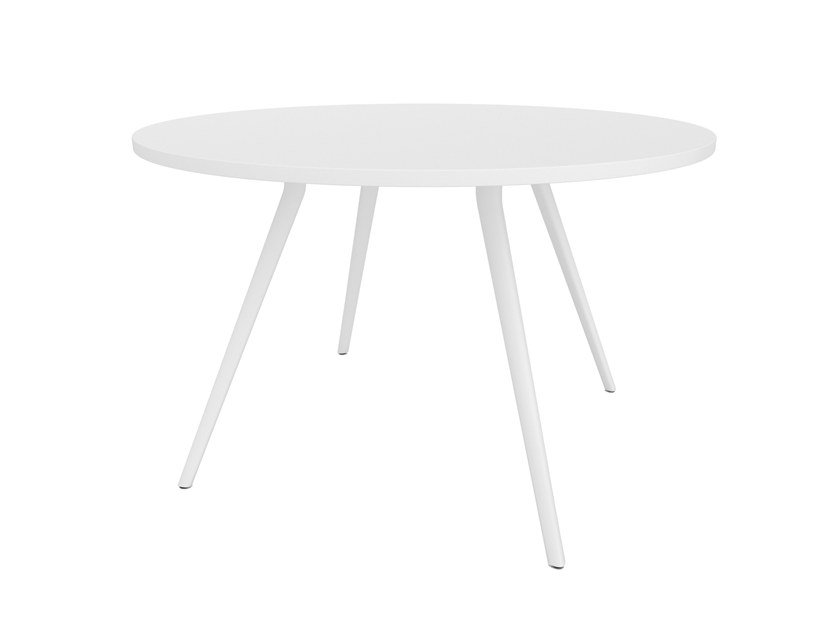 Round meeting table MEETY | Round meeting table by arper