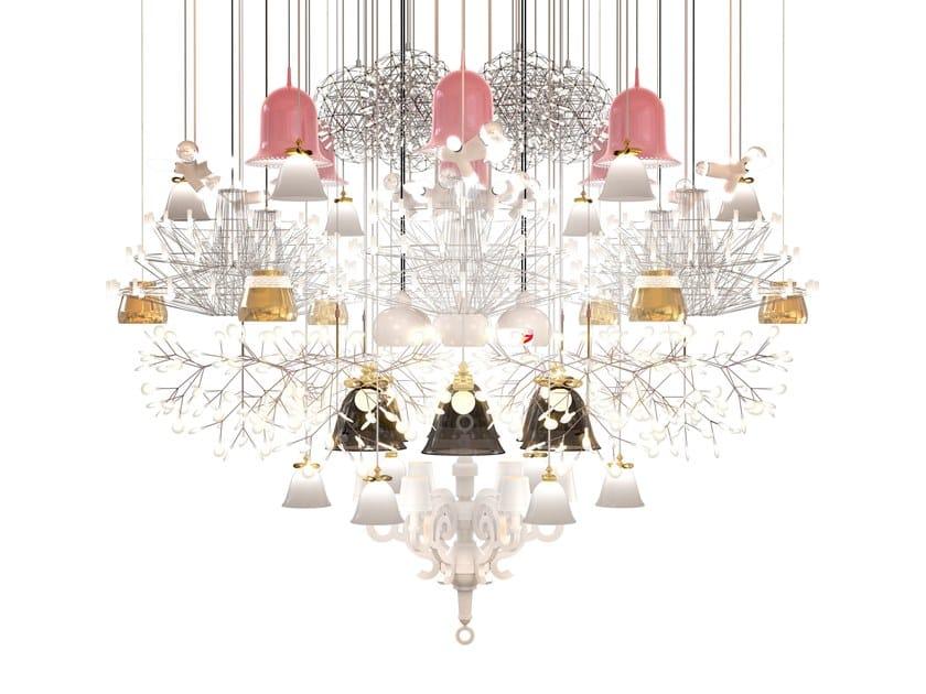Direct light chandelier MEGA CHANDELIER by moooi