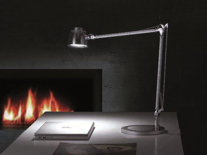 LED desk lamp MEGA LED by Caimi Brevetti