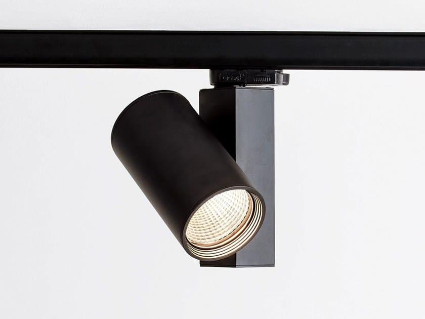 Illuminazione a binario a LED in alluminio verniciato a polvere MEGA TRACK by HER