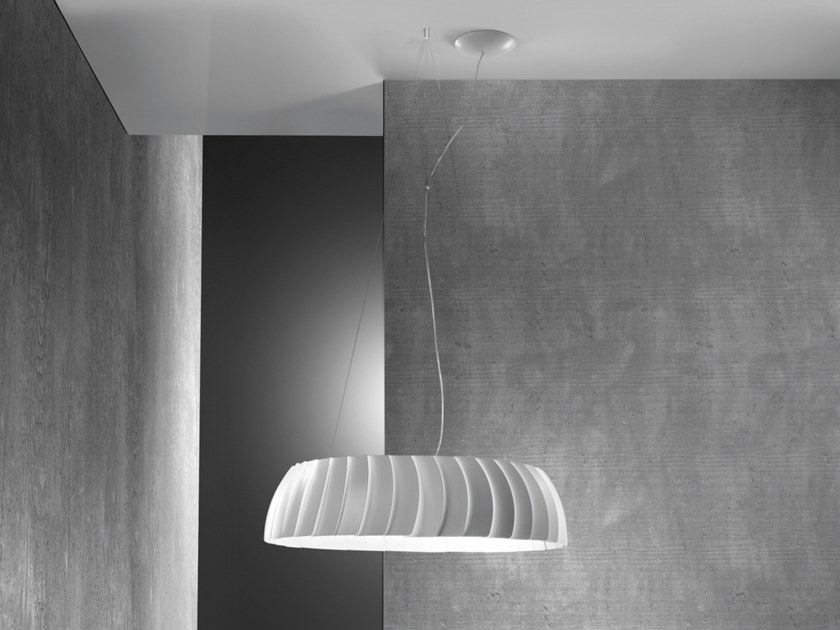 LED aluminium pendant lamp MEGAVIDE | Pendant lamp by EGOLUCE