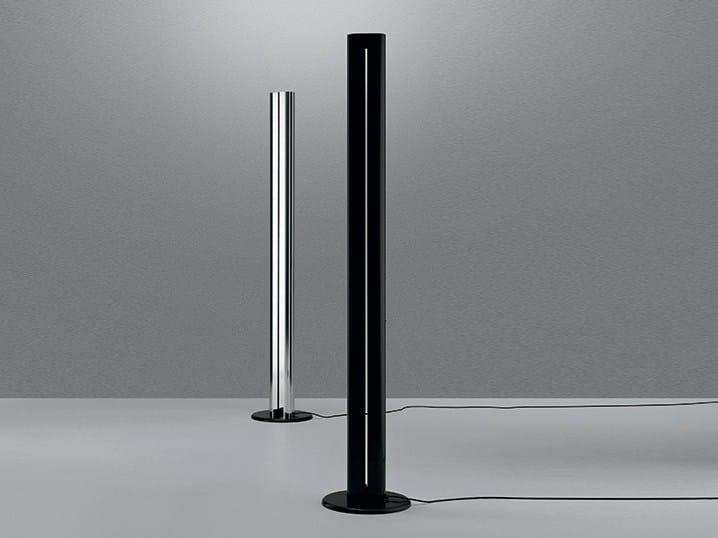 Lampadaire en aluminium pour éclairage indirect MEGARON by Artemide
