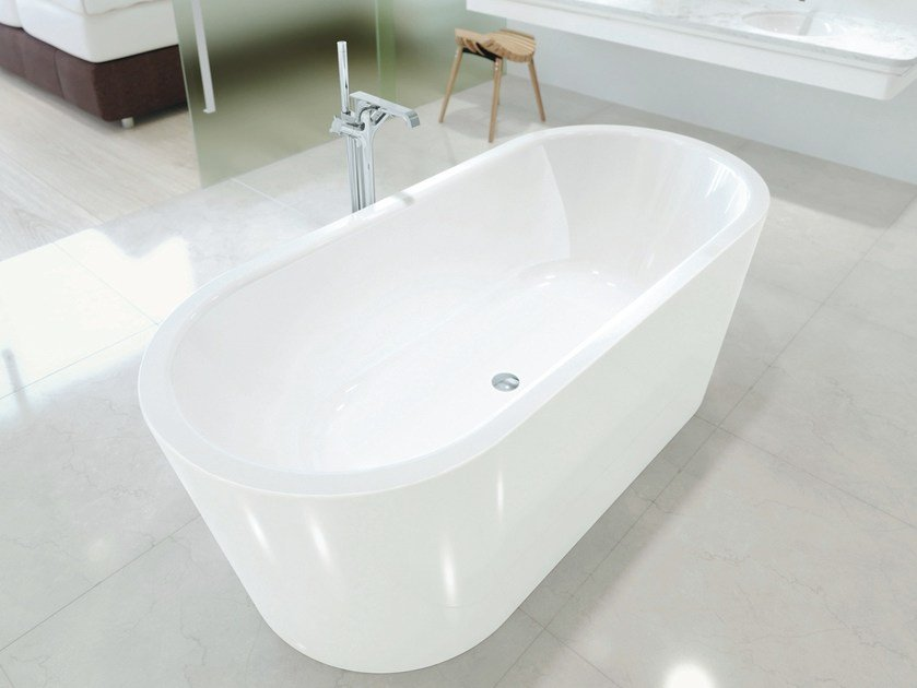 Vasca da bagno centro stanza ovale MEISTERSTÜCK CLASSIC DUO OVAL by Kaldewei Italia