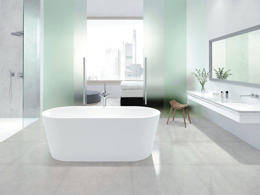 Vasca Da Bagno Kaldewei Dimensioni : Vasca da bagno centro stanza ovale meisterstÜck classic duo oval