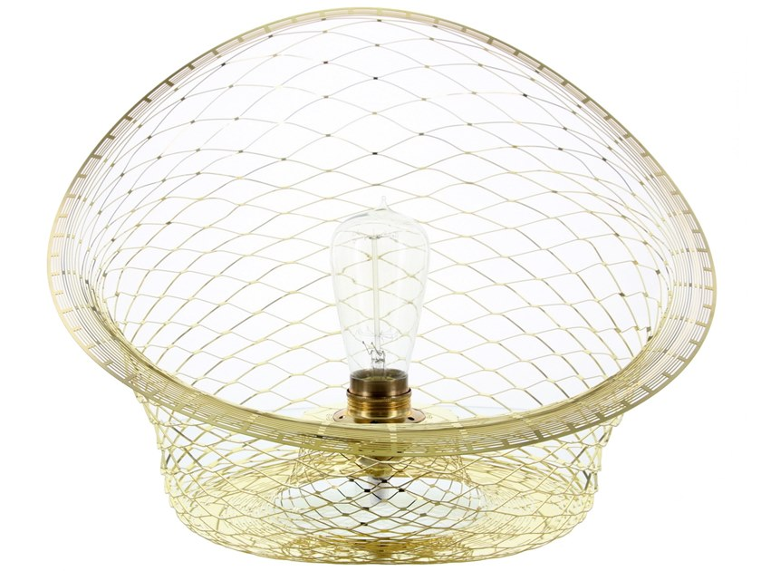 Brass table lamp MELAMP AURORA 40 - BOWL   Table lamp by Caino Design
