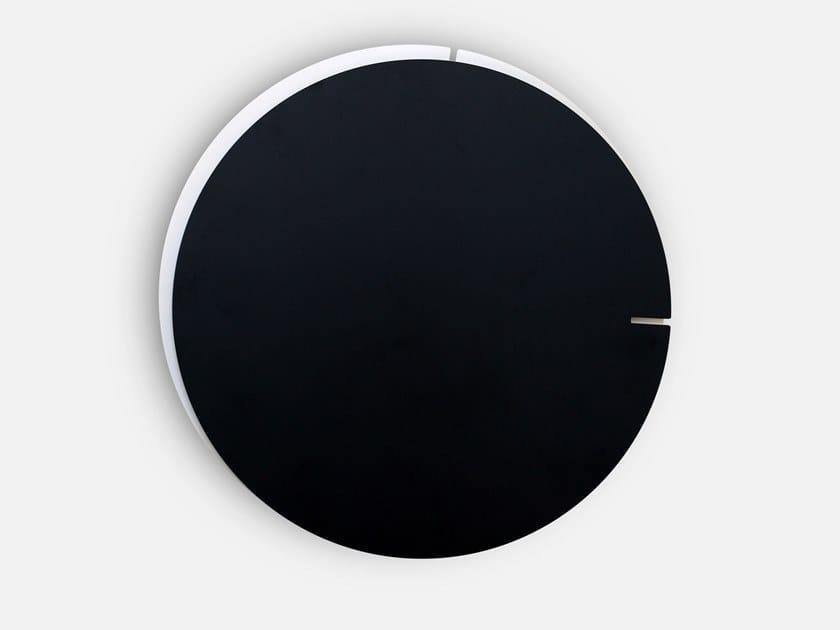 Orologio in alluminio da parete MELANCHOLIA by KIBARDIN
