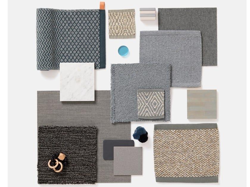 Handmade custom rug MELANGE FAMILY by Kasthall