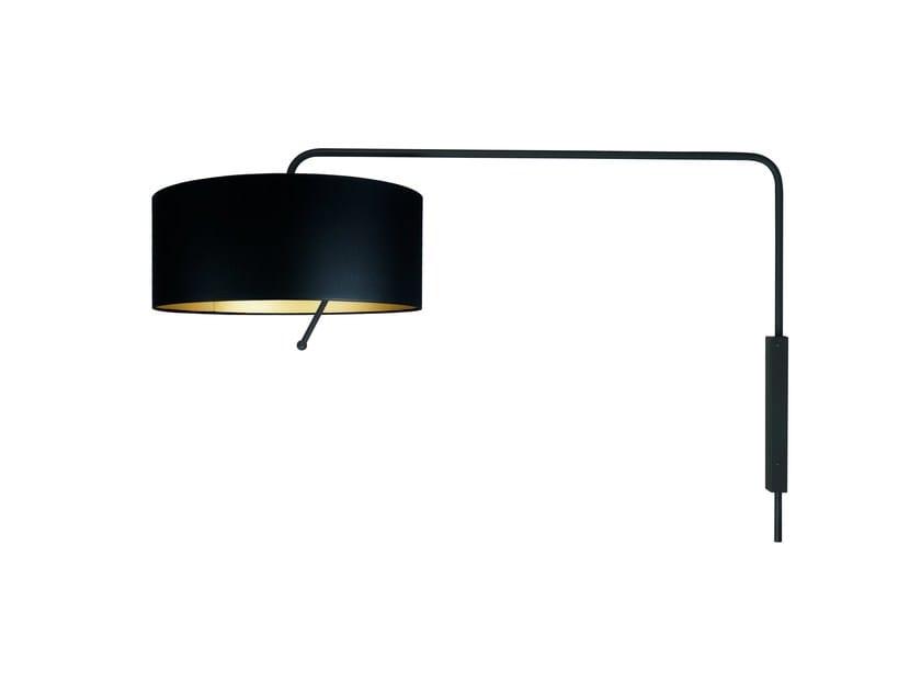 Lampada da parete con braccio flessibile MELIA by Brossier Saderne