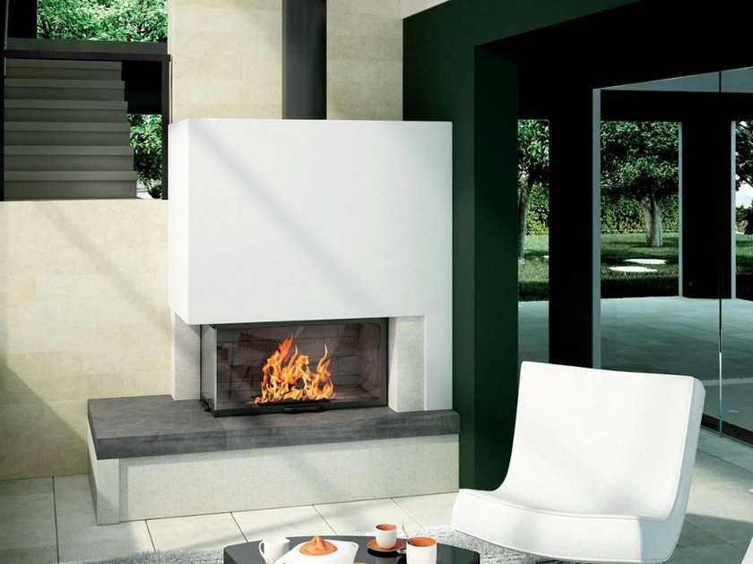 Natural stone Fireplace Mantel MELODY by Axis