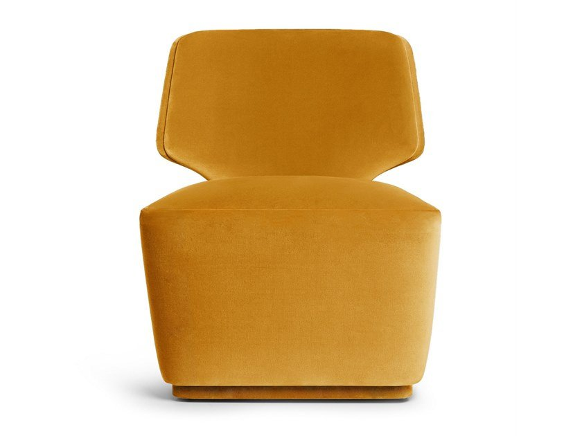Swivel velvet armchair MELODY | Swivel armchair by Munna