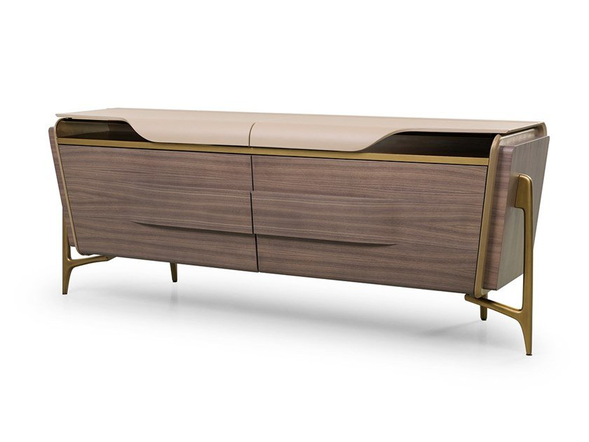 Sideboard with doors MELTING LIGHT | Sideboard by Turri