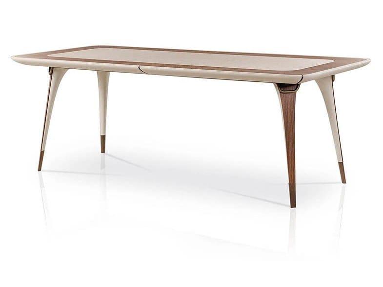Rectangular table MELTING LIGHT | Table by Turri