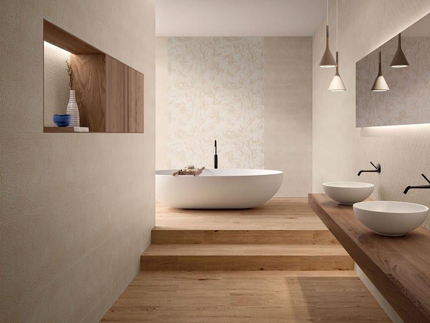 White-paste wall tiles MEMENTA SABBIA by Marca Corona