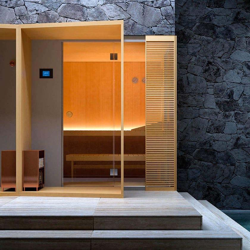 Sauna finlandese con doccia prezi presentation