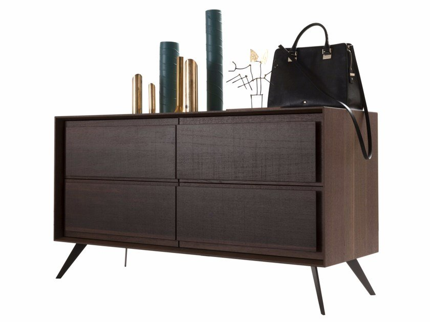Oak chest of drawers MEMORIES | Chest of drawers by Presotto