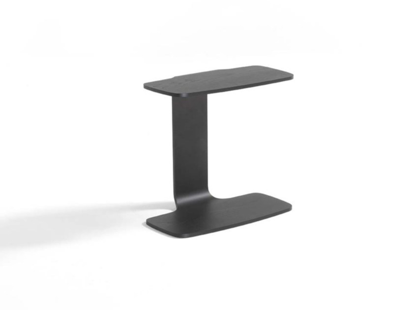 Wooden side table MEMPHIS SERVER by Frigerio Salotti