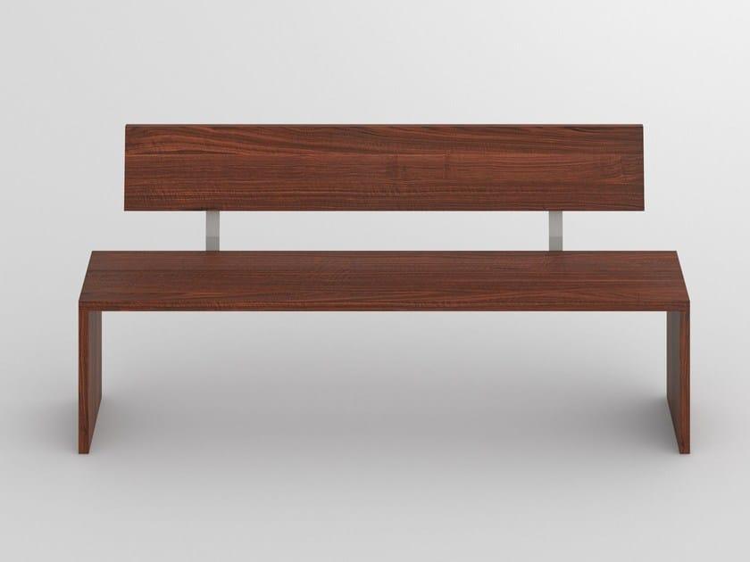 MENA   Panca con schienale By Vitamin Design design GG designart