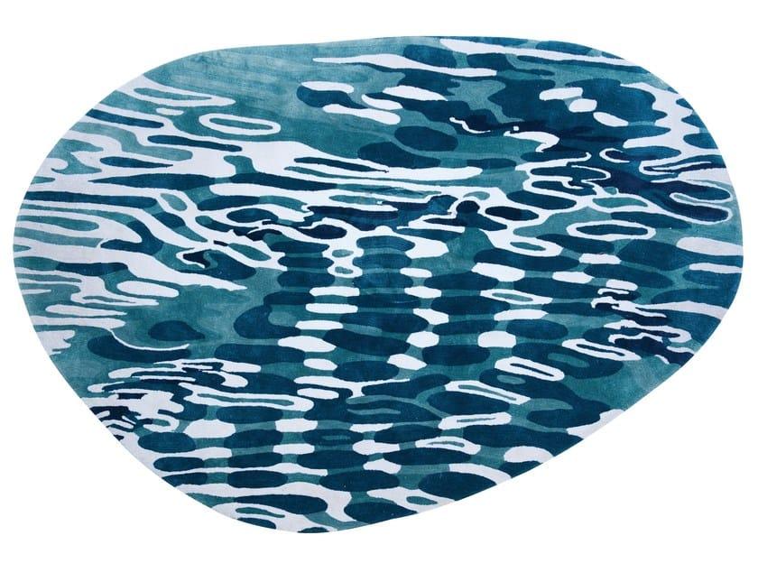 tapis en viscose mer by roche bobois - Tapis Roche Bobois