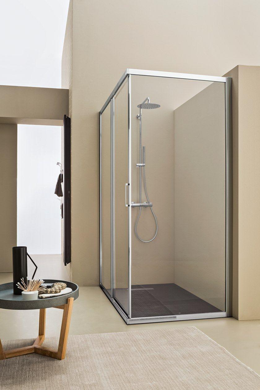 MERCURIO | Box doccia con porta scorrevole