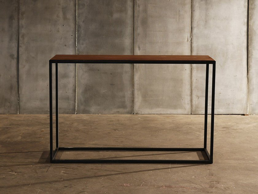 Teak console table MESA | Console table by Heerenhuis
