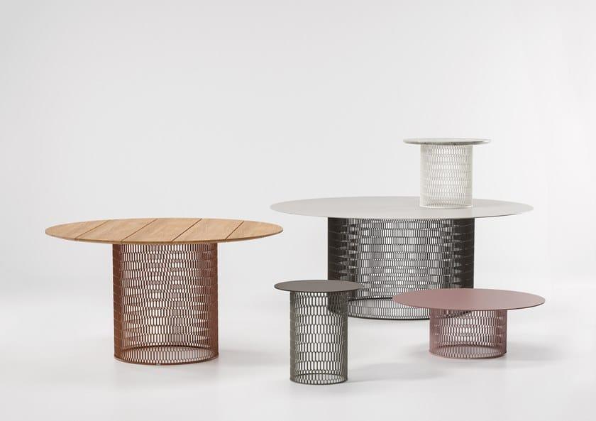 MESH | Table en aluminium Collection Mesh By Kettal design ...