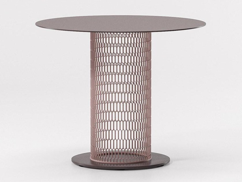Aluminium garden table MESH | Aluminium table by Kettal