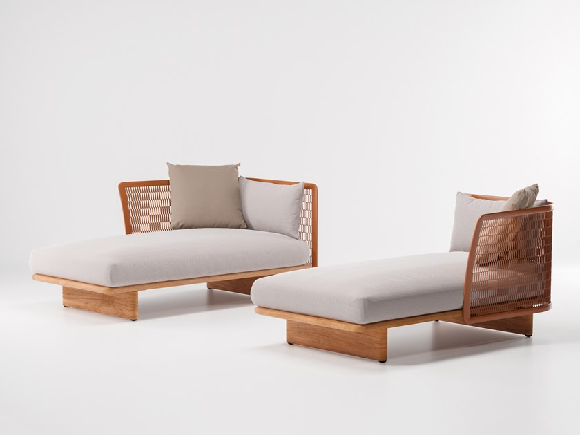 Fabric garden daybed MESH | Garden daybed by KETTAL
