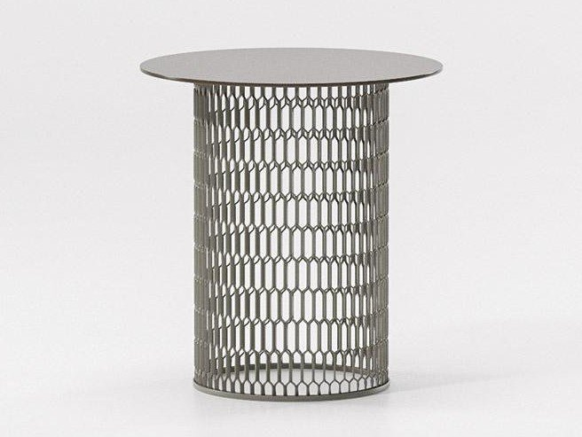 Aluminium side table MESH | Side table by Kettal