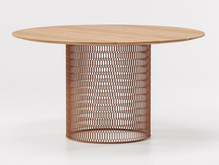 Teak garden table MESH | Teak table by Kettal