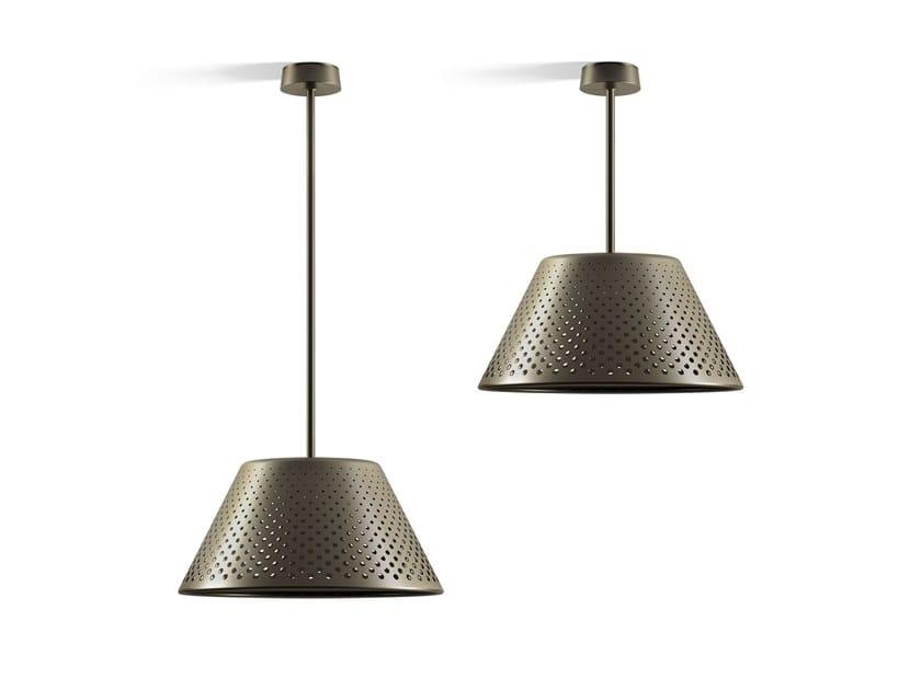 Lampada a sospensione per esterno a LED in alluminio MESH XL   Lampada a sospensione per esterno by Platek