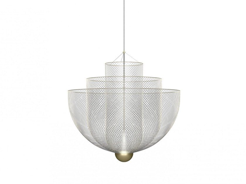 Metal pendant lamp MESHMATICS by moooi