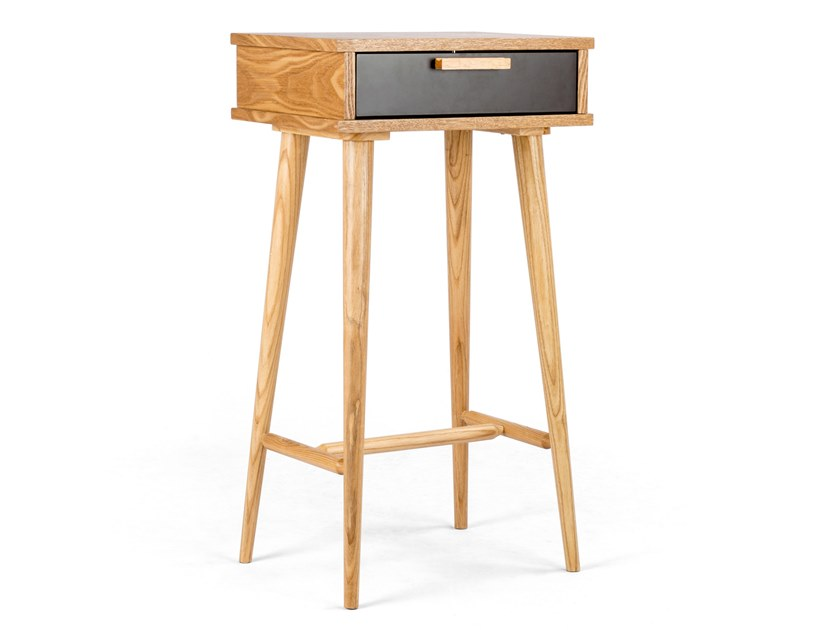 Ash computer cabinet with drawers MESTOS by meeloa